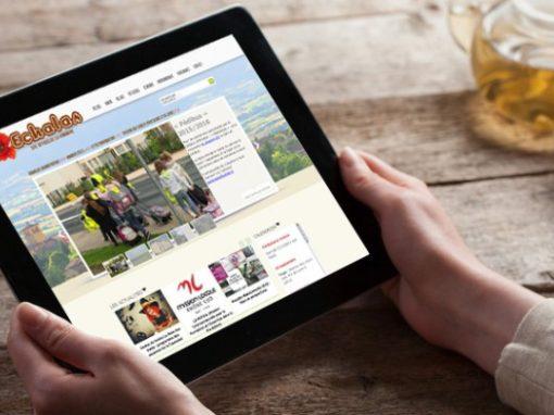 Site Internet d'une commune rurale