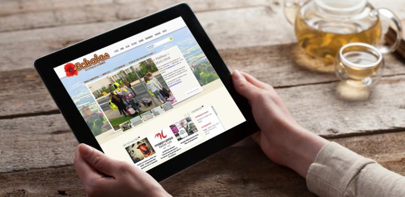 Site Internet de la commune d'Échalas