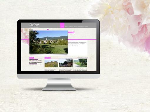 Création du site de Roisey, commune rurale