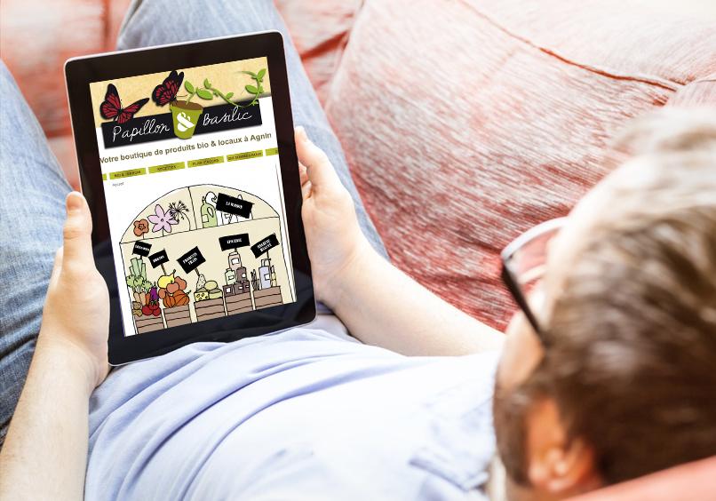 Site e-commerce de produits bio