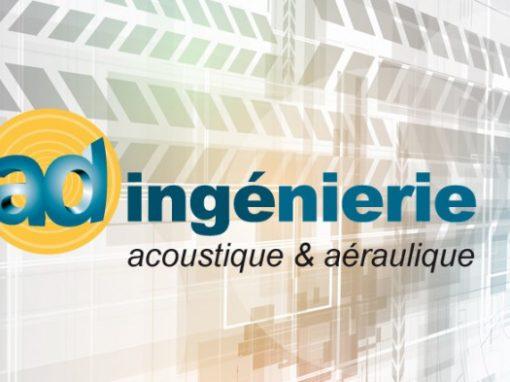 Site Internet AD Ingénierie acoustique environnementale