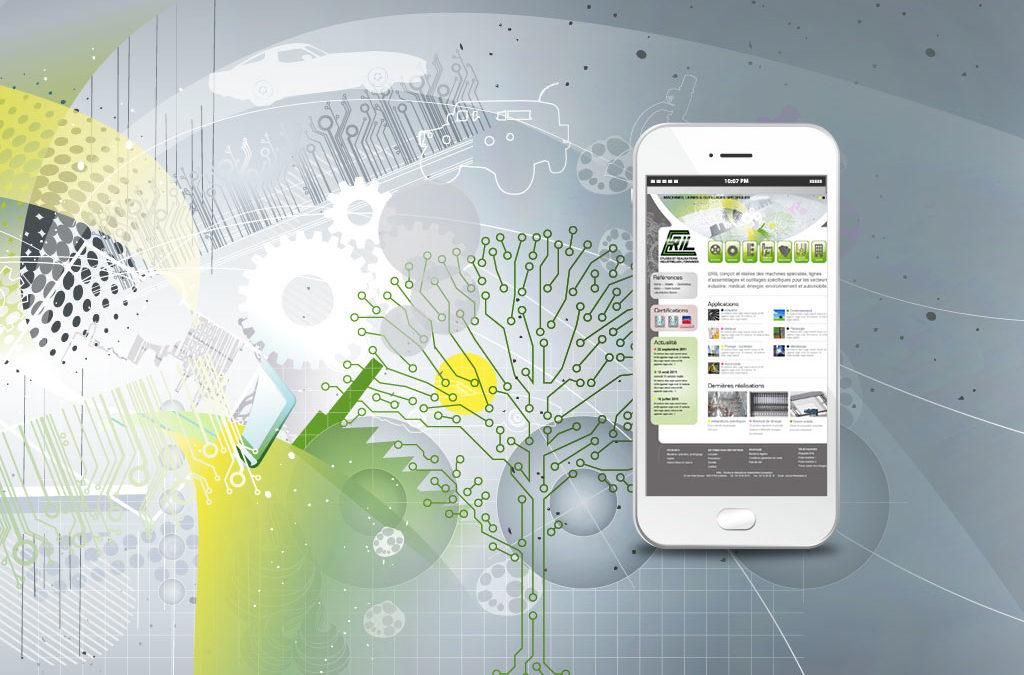 Création du site Eril, études et réalisations industrielles Lyonnaises